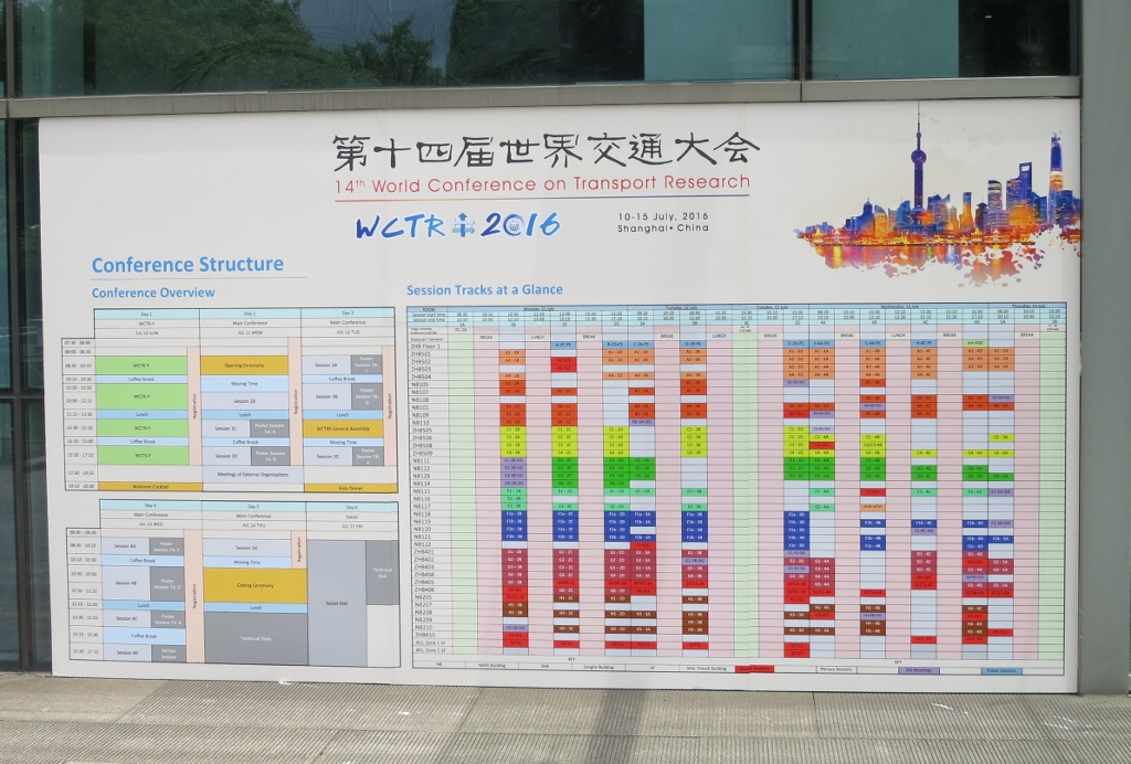 Conference Programme WCTRS