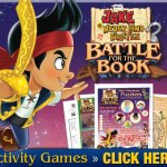 Jake and the Neverland Pirates – Battle for the Book FREE Printable Activity Pages