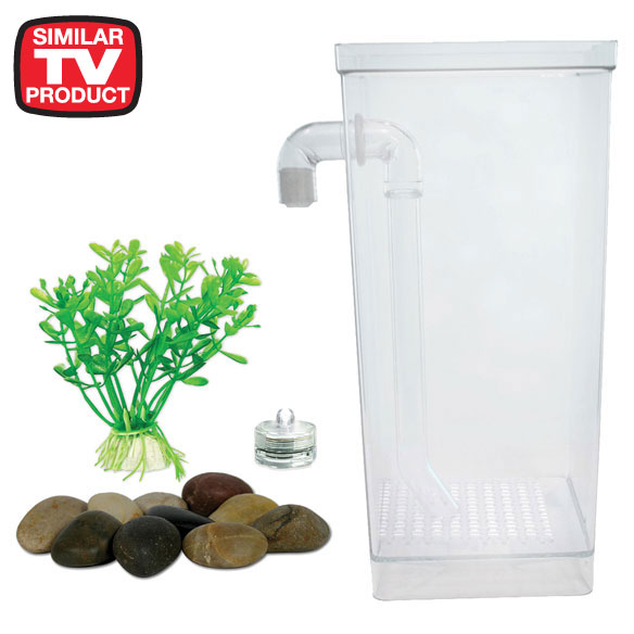 5 gallon fish tank 0 5 aqua culture betta view aquarium for Fun fish tank