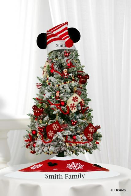 Holiday Decorations for Resort Rooms at Walt Disney World - disney christmas decorations