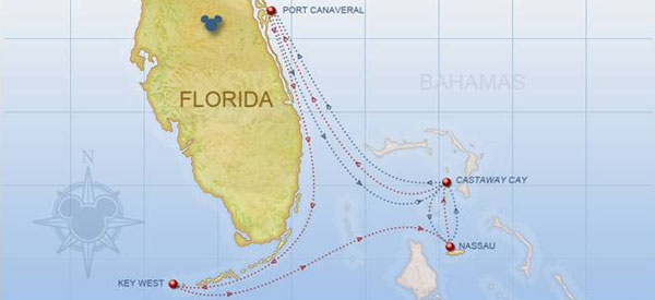 Disney Cruise Line Itineraries for 2018, 2019 and 2020 - Disney