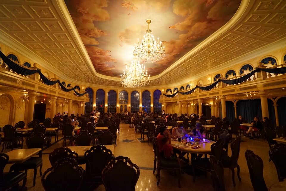 Beauty And The Beast Quote Wallpaper Be Our Guest Restaurant Prix Fixe Dinner Menu Review