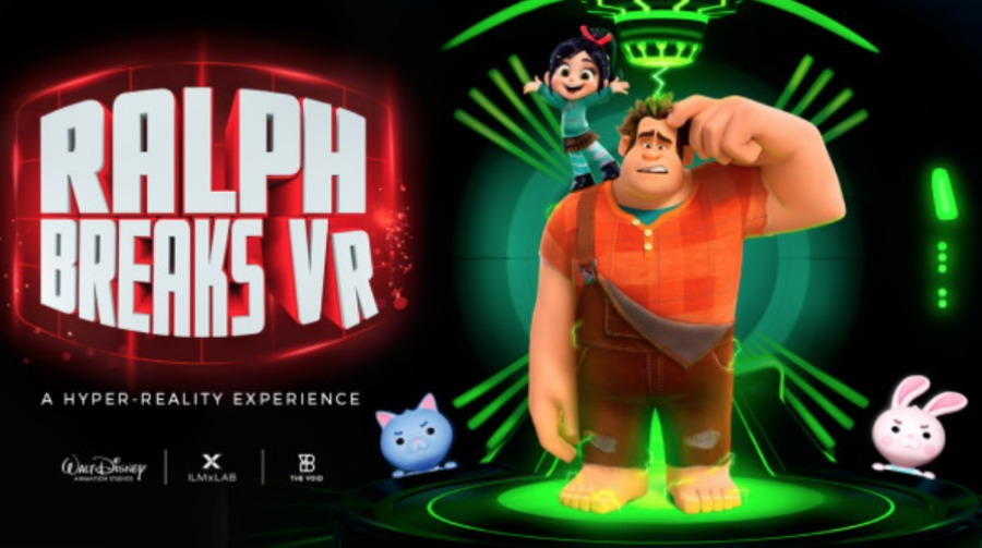 Sonic Fall November Wallpaper The Void Announces Wreck It Ralph Breaks Vr Experience