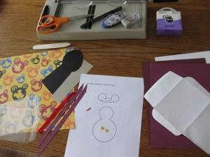 2 A Snowman Card Supplies FC