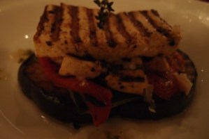 Dinner -- Grilled Tofu