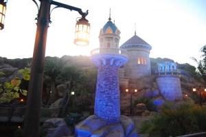 New Fantasyland at Dawn