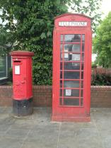Phone and post box