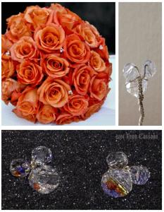 Crystal Mickey Earrings 2
