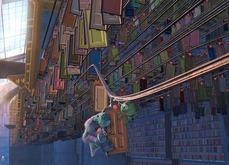Disney World Fall Wallpaper Imagineering A Monsters Inc Roller Coaster Wdw