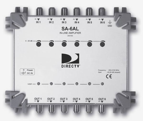DirecTV SWM16 - SWM 16 Single Wire Multiswitch, Amps  Parts for