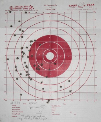 52 rounds at 7 yards