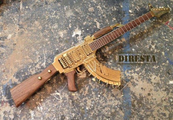 DiResta AK47 Guitar