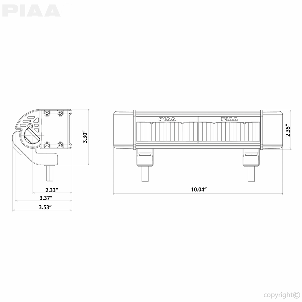 piaa wiring instructions