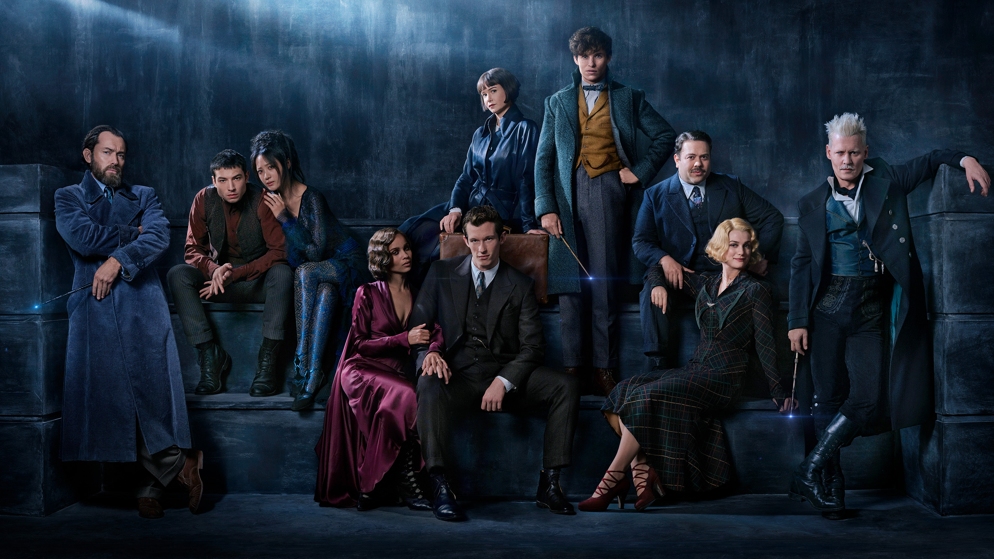 Fantastic Beasts 2: First look at Jude Law as Dumbledore, title revealed
