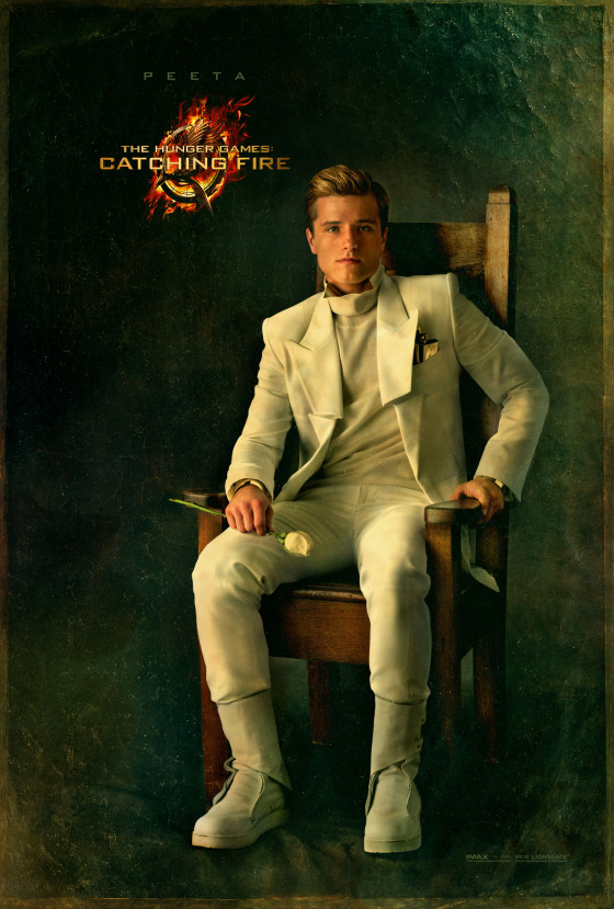 Josh Hutcherson Hunger Games Catching Fire