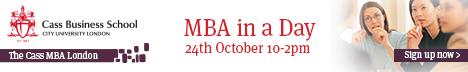 CASS Business School MBA Event