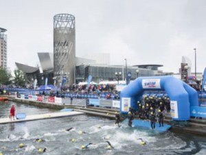 Great Manchester Swim in aid of Wellbeing of Women @ Salford Quays | United Kingdom