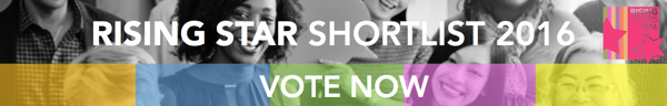 Rising Star Shortlist 2016- vote now