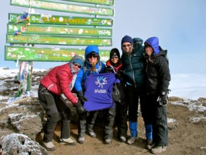 Mount Kilimanjaro Climb in aid of Wellbeing Of Women @ Kilimanjaro