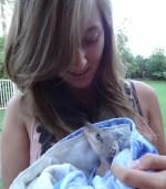 Baby kangoeroe australie dieren