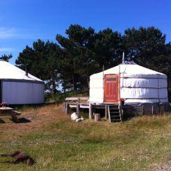 Bijzondere overnachting yurt