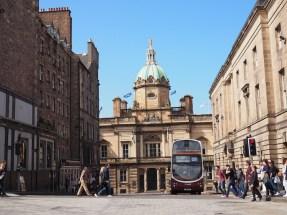 Straten Edinburgh Schotland