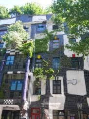 Hundertwasser hause kunsthaus wien wenen