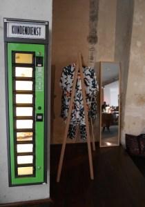 Kunstautomaat Michel Berger hotel