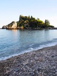 Kust oost sicilie taormina strand