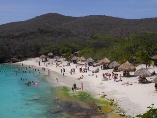 Mooiste strand Curacao knip