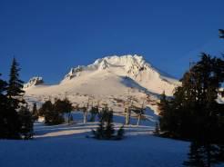 Mount Hood top