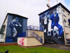 Murals derry noord-ierland