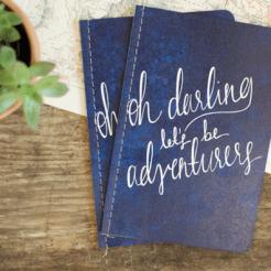 Reisdagboek darling let's be adventurers