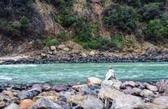 Rishikesh rivier india