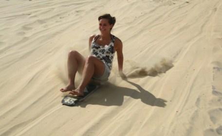 Sandboarden brazilie cumbuco