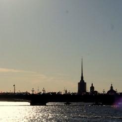 Sint Petersburg uitzicht