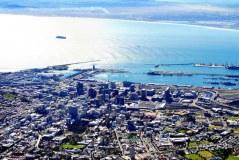 Tafelberg kaapstad zuid afrika uitzicht
