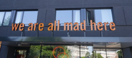 We are all mad here 25 hours hotel wenen