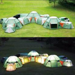 gekke tenten