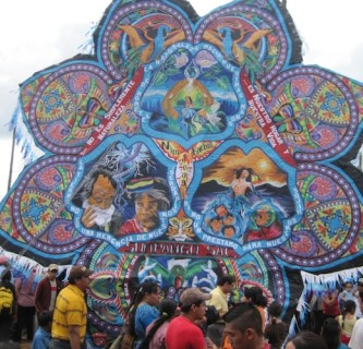 kite day of the dead guatemala