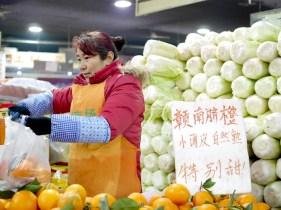 markt beijing groente