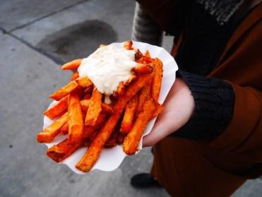 zoete aardappelfriet bite club berlijn foodtrucks friedrichshain