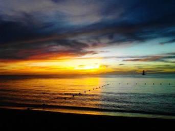 zonsondergang jamaica