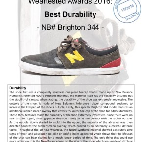 Weartested Awards 2016: Best Durability