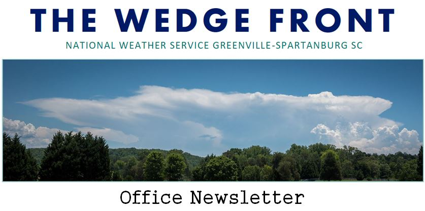 NWS Greenville-Spartanburg Office Newsletter