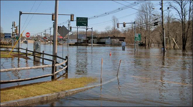 Flooding in Massachusetts