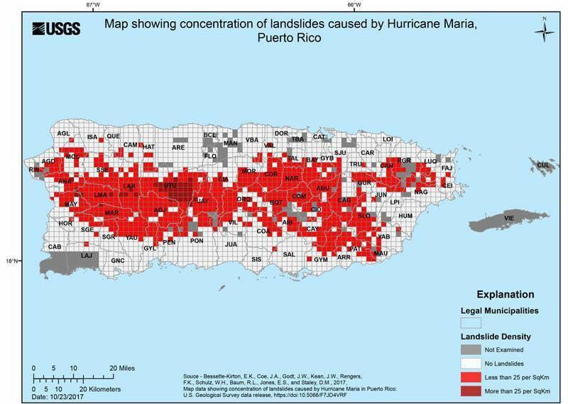 Major Hurricane Maria - September 20, 2017