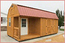 Weatherking Private Storage Lofted Side Cabin