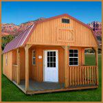 DuroTemp Deluxe lofted barn Cabin