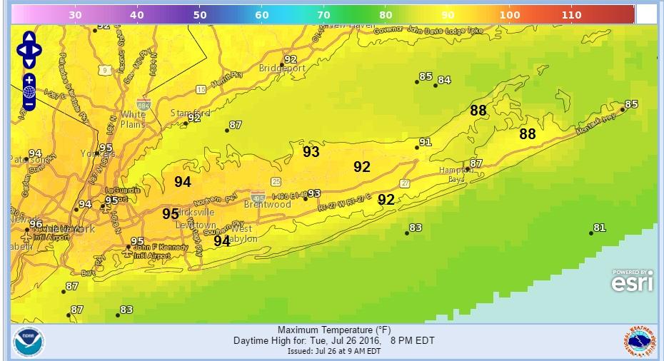 Heatwave Day 5 6 or 1 Long Island